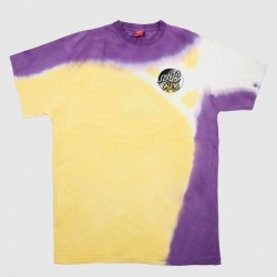 T-SHIRT SANTA CRUZ DOPE PLANET - FADE YELLOW PURPLE