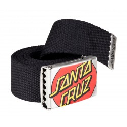 CEINTURE SANTA CRUZ CROP DOT - BLACK