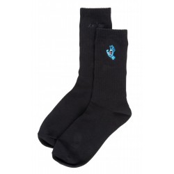 CHAUSSETTES SANT CRUZ SCREAMING MINI HAND - BLACK