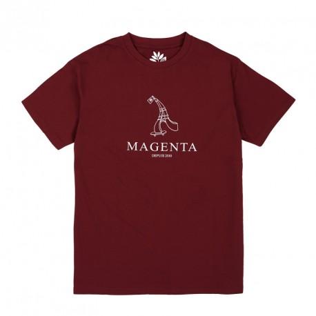 T-SHIRT MAGENTA DEPUIS 2010 - BURGUNDY