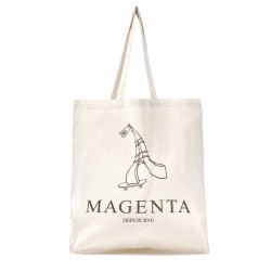 TOTE-BAG MAGENTA DEPUIS 2010 - NATURAL
