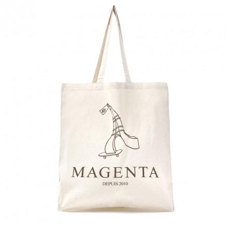 TOTE-BAG MAGENTA DEPUIS 2010 - NATURAL