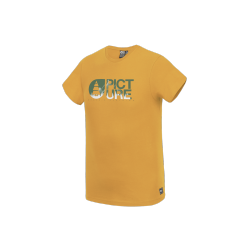 T-SHIRT PICTURE ORGANIC BASEMENT FA20 - YELLOW