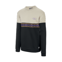 SWEAT PICTURE ORGANIC FLAGSTAFF CREW - BLACK