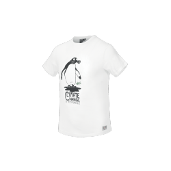 T-SHIRT PICTURE ORGANIC CARBON - WHITE