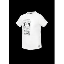 T-SHIRT PICTURE ORGANIC PANDITO - WHITE
