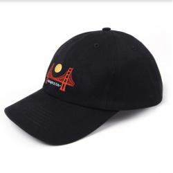 CASQUETTE MAGENTA SF DAD HAT - BLACK