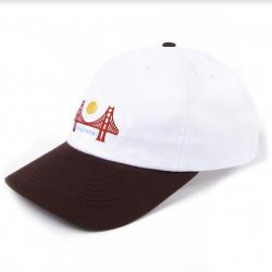 CASQUETTE MAGENTA SF DAD HAT - WHITE BROWN
