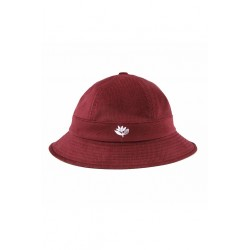 BOB MAGENTA BUCKET HAT CORDUROY - BURGUNDY