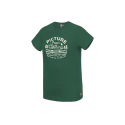 T-SHIRT PICTURE ORGANIC COLTER - FOREST GREEN