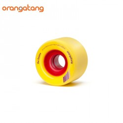 ROUES ORANGATANG THE KEANU 66MM YELLOW