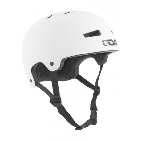 CASQUE TSG EVOLUTION YOUTH SOLID COLOR - SATIN WHITE