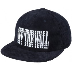 CASQUETTE VANS LOUNGING SHALLO - BLACK WHITE