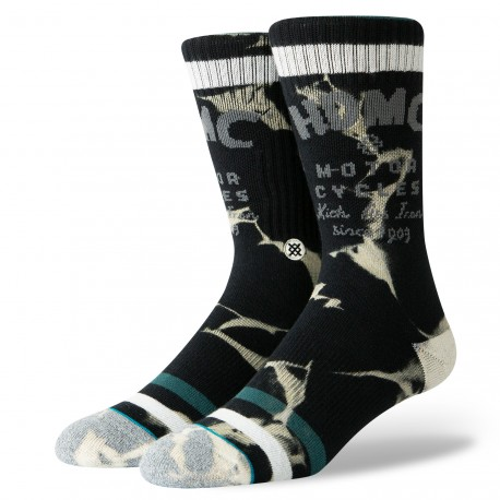 CHAUSSETTES STANCE HARLEY IRON WASH - BLACK