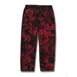 PANTALON VOLCOM STRANGE TIME EW - DEEP RED