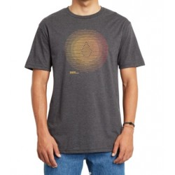 T-SHIRT VOLCOM TREPID HTH - HEATHER BLACK