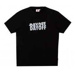T-SHIRT DAYOFF CLASSIC LOGO - BLACK