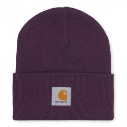 BONNET CARHARTT WIP ACRYLIC WATCH HAT - BOYSENBERRY
