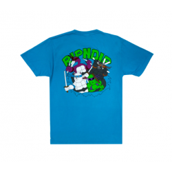 T-SHIRT RIPNDIP TEENAGE MUTANT TEE - BLUE