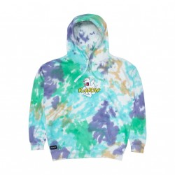 SWEAT RIPNDIP NOMER HOODIE - MULTI WASH DYE