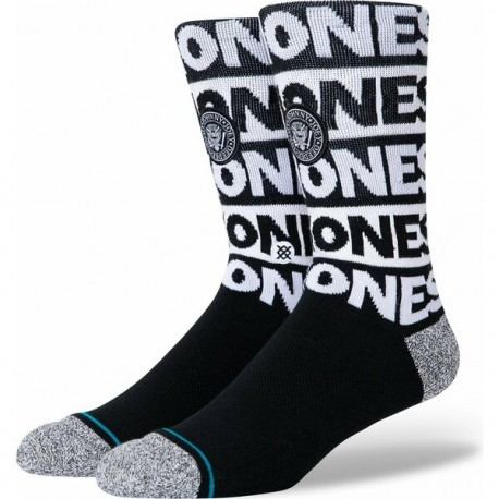 CHAUSSETTES STANCE THE RAMONES - BLACK