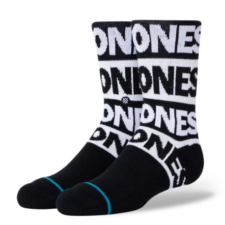 CHAUSSETTES STANCE THE RAMONES KIDS - BLACK