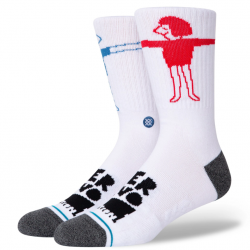 CHAUSSETTES STANCE LOVER - WHITE