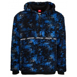 VESTE SANTA CRUZ ARCTOS JACKET - BLACK BLUE