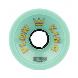 ROUES HAWGS PLOW KING 72MM 78A - OCEAN TEAL
