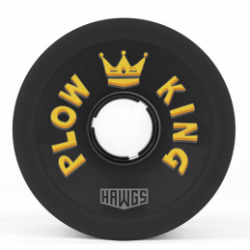 ROUES HAWGS PLOW KING 72MM 78A - BLACK