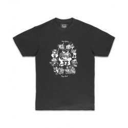 T-SHIRT PASSPORT TOBY ZOATES COPPERS - BLACK