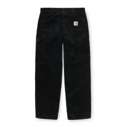 PANTALON CARHARTT WIP RUCK SINGLE KNEE CORD - BLACK