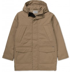 VESTE CARHARTT TRENT PARKA - COTTON LEATHER