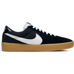 CHAUSSURES NIKE SB BRUIN REACT - BLACK WHITE GUM