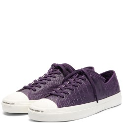 CHAUSSURES CONVERSE X POP JACK PURCELL PRO OX - GRAND PURPLE BLACK