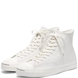 CHAUSSURES CONVERSE X POP JACK PURCELL PRO OX HI - EGRET BLACK