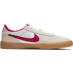 CHAUSSURES NIKE SB HERITAGE VULC - SUMMIT WHITE CARDINAL RED