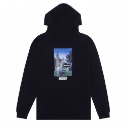 SWEAT HOCKEY HELLHOLE HOOD - BLACK