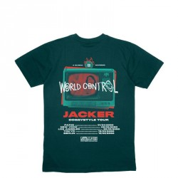 T-SHIRT JACKER WORLD TOUR - DARK GREEN