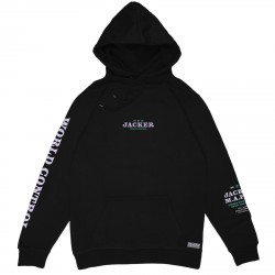 SWEAT JACKER HOODIE NUCLEAR - BLACK