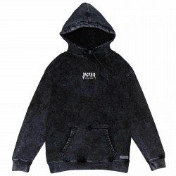 SWEAT JACKER HOODIE NO PLACE - STONEWASH GREY