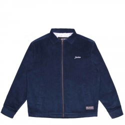 VESTE JACKER SMART LOGO JACKET - NAVY
