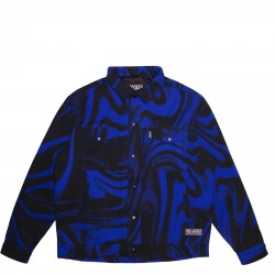 VESTE JACKER LIQUID BLUE JACKET JACKET - BLEUE
