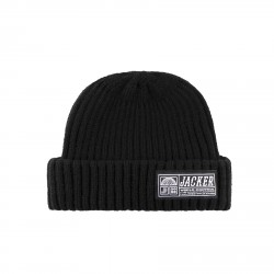 BONNET JACKER WCT SHORT BEANIE - BLACK