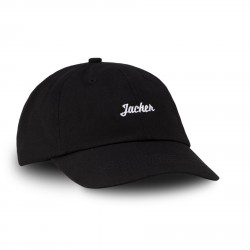 CASQUETTE JACKER SMART LOGO - BLACK