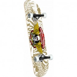 SKATE COMPLET POWELL PERALTA WINGED RIPPER WHITE - 7.0