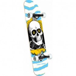 SKATE COMPLET POWELL PERALTA RIPPER ONE OFF BLUE BIRCH - 7.5