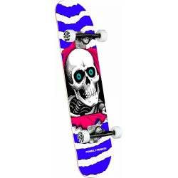 SKATE COMPLET POWELL PERALTA RIPPER ONE OFF PURPLE BIRCH - 7.75