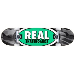 SKATE COMPLET REAL TEAM OVAL CAMO - 8.25