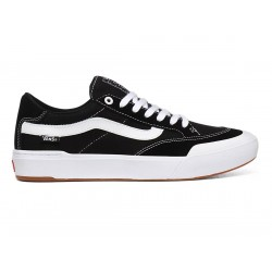 CHAUSSURES VANS BERLE PRO - BLACK TRUE WHITE